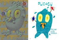 Pucagu - 1-2-3 Mostro! di Oscar Salerni - Monster project