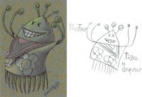 Tiza inpno - 1-2-3 Mostro! di Oscar Salerni - Monster project