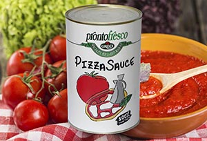 Pizza Sauce can - Greci Prontofresco