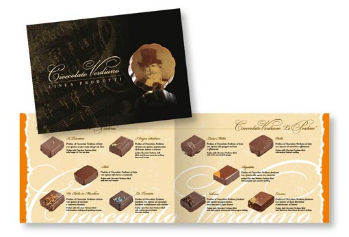 Product brochure Cioccolato Verdiano