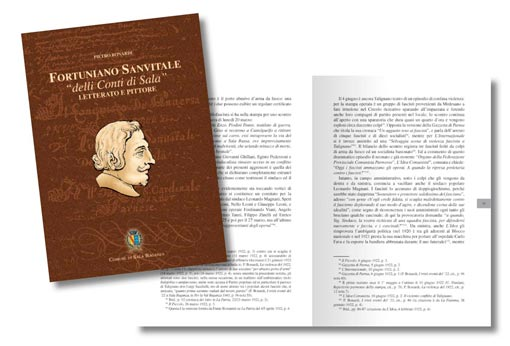 "Fortuniano Sanvitale ""delli Conti di Sala"" literate and painter book"